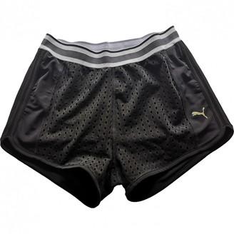 Puma Black Lycra Shorts for Women