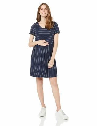 Ripe Maternity Women's Crop Top Nursing Dress Casual