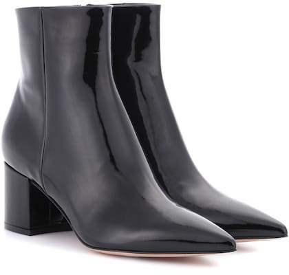 Gianvito Rossi Exclusive to mytheresa.com – Patent leather ankle boots