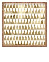 Deny Designs Georgiana Paraschiv - Triangle Pattern Decorative Tray