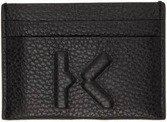 Kenzo Black Imprint Card Holder