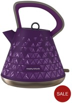 Morphy Richards Prism Pyramid Kettle - Purple