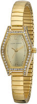 Laura Ashley Womens Gold Expandable Bracelet Watch La31010Yg