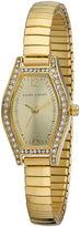 Laura Ashley Womens Gold Expandable Bracelet Watch La31010Yg