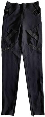 Gucci Black Silk Trousers