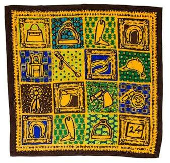Hermes Le Boubou Silk Scarf