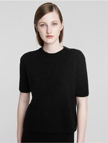 Calvin Klein Collection Cashmere Bouclè T Shirt