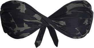 Melissa Odabash Martinique Printed Twisted Bandeau Bikini Top