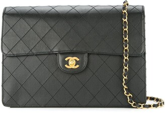 Chanel Pre Owned 1997-1999 Quilted CC Single Chain Shoulder Bag