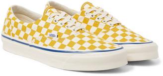 Vans Og Era Lx Checkerboard Canvas Sneakers