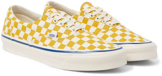 Vans Og Era Lx Checkerboard Canvas Sneakers