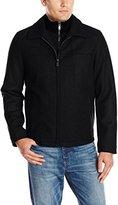 Dockers Melton Wool-Blend Jacket With Bib