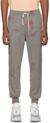 John Elliott Grey Double Dye Ebisu Lounge Pants