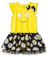 Baby Starters Bodysuit with attached Tutu - Yellow/Black