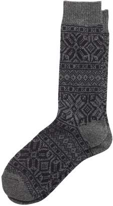 Banana Republic Fair Isle Wool-Blend Sock