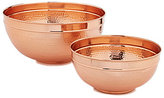Southern Living Hammered Copper Serving Bowl
