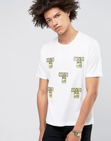 Love Moschino Padlock T-shirt