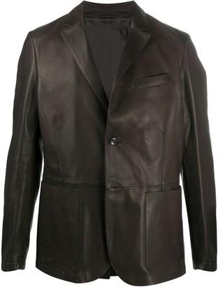Ajmone Leather Jacket