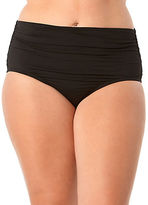 Anne Cole High Waist Shirred Swim Bottoms