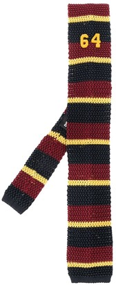 DSQUARED2 Striped 64 Knitted Tie
