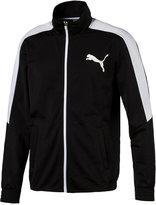 Puma Men's Contrast Zippered Track Jacket