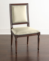 Horchow Massoud Ingram Leather Dining Chair, C3