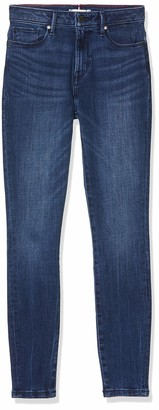 Tommy Hilfiger Women's Como Skinny Rw A Evi Straight Jeans