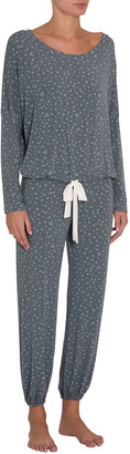 Eberjey Bloom Slouchy Pajama Set