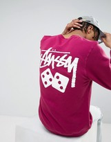 Stussy Sweatshirt With Dice Back Print