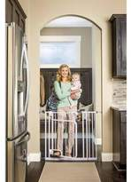 Regalo New Easy Step Hands Free Walk Through Indoor Safety Baby Gate 32 , White by