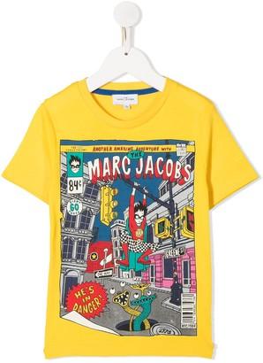 Marc Jacobs comic-print cotton T-shirt