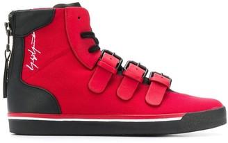 Yohji Yamamoto Signature High Top Sneakers