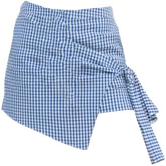 Tomcsanyi Solymar Blue White Overlap Shorts