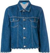 MiH Jeans Arch denim jacket - women - Cotton - M