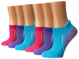 Stride Rite Erica Made 2 Play 6-Pack Brites Seamless, Tab Welt, Half Cushion Arch Support No Show Girls Shoes