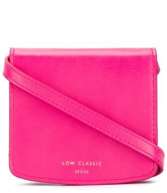 Low Classic Logo-Print Crossbody Bag