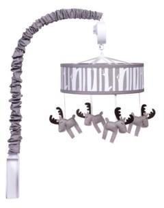 Trend Lab Moose Musical Crib Mobile Bedding