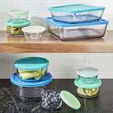 Crate & Barrel Anchor Hocking ® 20-Piece Glass Storage Set