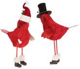 Mark Roberts Large Hat Pride Cardinals - Set of 2