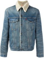 Levi's shearling denim jacket