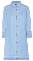 J Brand Bacall cotton and linen shirt dress