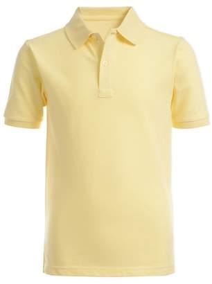 Nautica Short Sleeve Double Pique Polo (Little Boys)