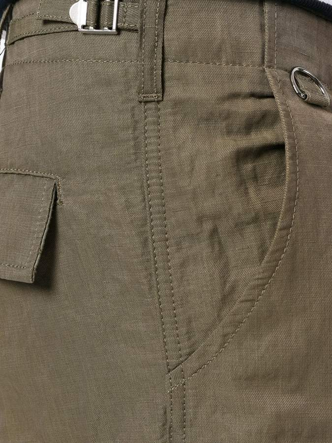Ermanno Scervino multi-pocket cargo shorts