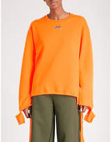 Collina Strada Grommet jersey sweatshirt