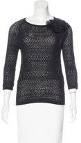 Dolce & Gabbana Wool Open-Knit Sweater