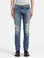 Calvin Klein Jeans Straight Tapered Selvedge Jeans