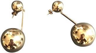 J.W.Anderson Gold Metal Earrings