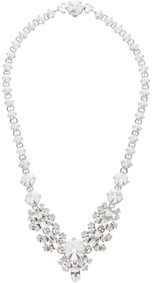 Miu Miu Crystal Detail Necklace