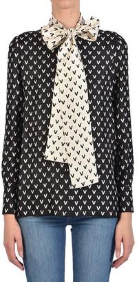 Valentino Silk Shirt With Shirt