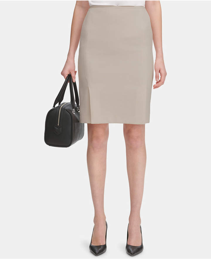 8a2caf9fe65bff Pleated Khaki Skirt - ShopStyle